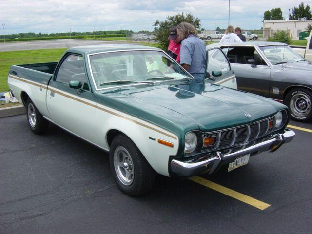 Car To Go >> The HUFF REPORT - The AMC Hornet Cowboy...